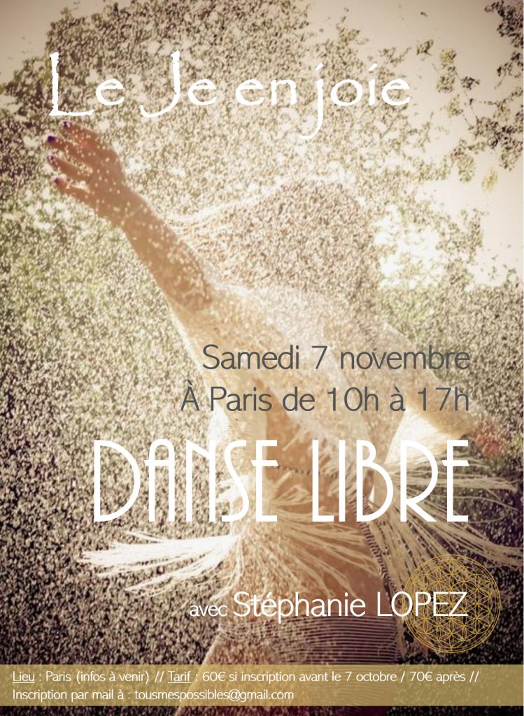 danse libre danse des 5 rythmes danse extatique danse médecine free movement danse transpersonnelle